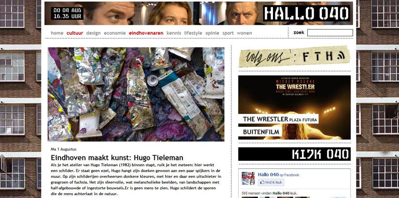 Hugo Tieleman - Interview Hallo 040