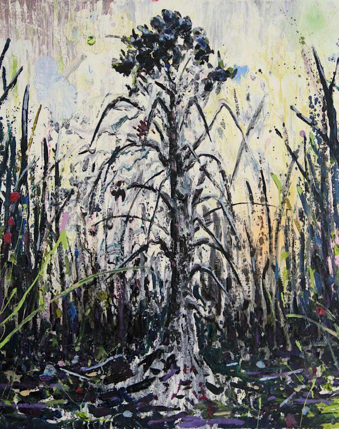 Black tree / Burned tree 2