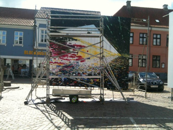 Project | Billboard painting