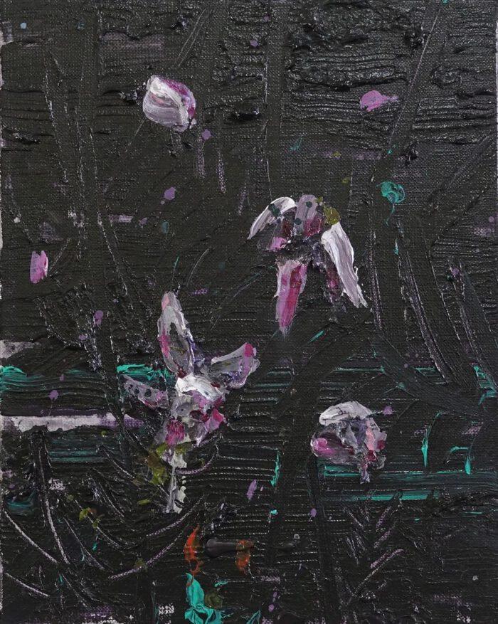 Endangered flower (Pink orchid 2)